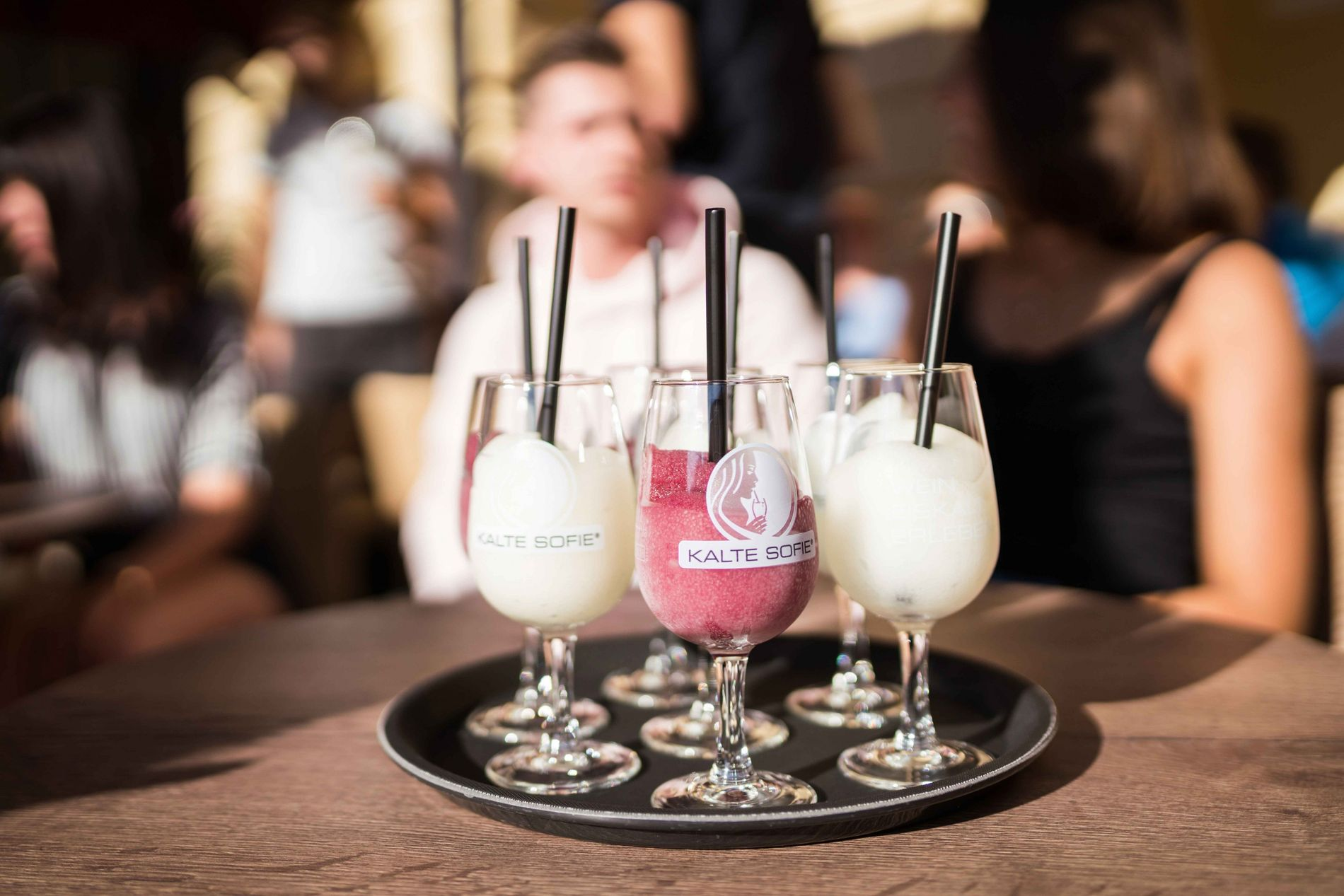 In sunny weather try a Kalte Sophie; a red or white wine slushie that's become Freiburg's ...