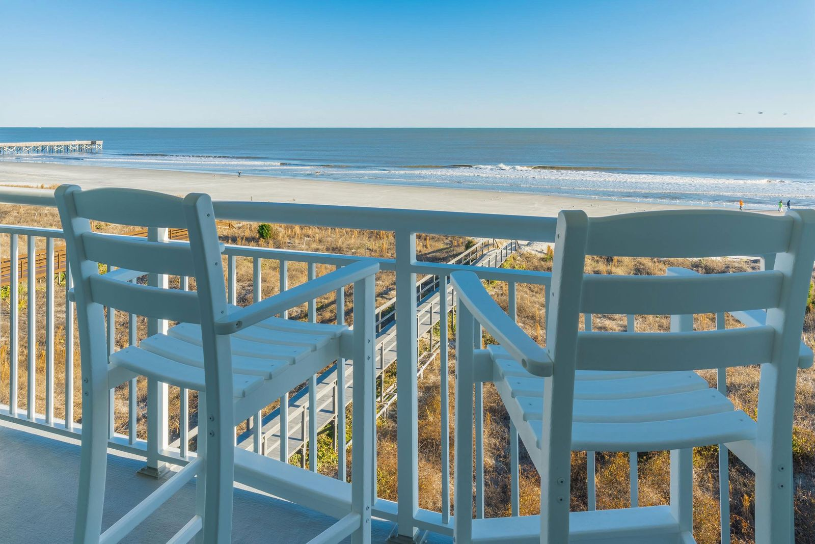 It's all about the beach at this renovated spot on the Isle of Palms.
