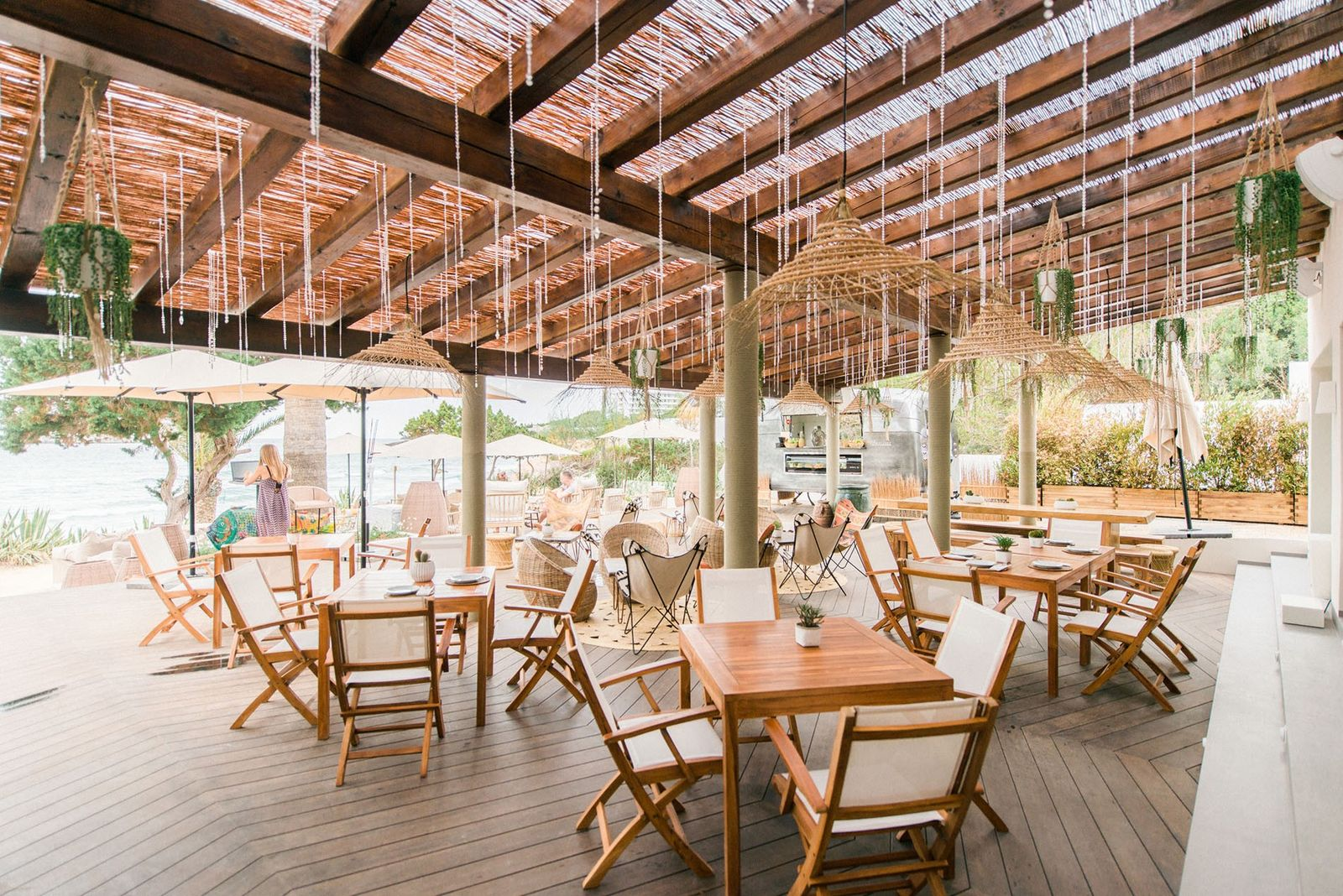 Fairly new to the scene, the Aiyanna beach restaurant captures the essence of Ibiza.