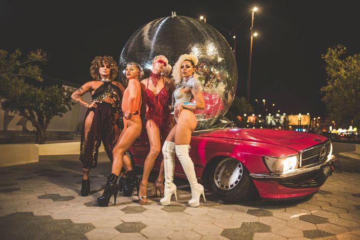 Hï Ibiza's flamboyant Glitterbox disco promises a wild night like no other.
