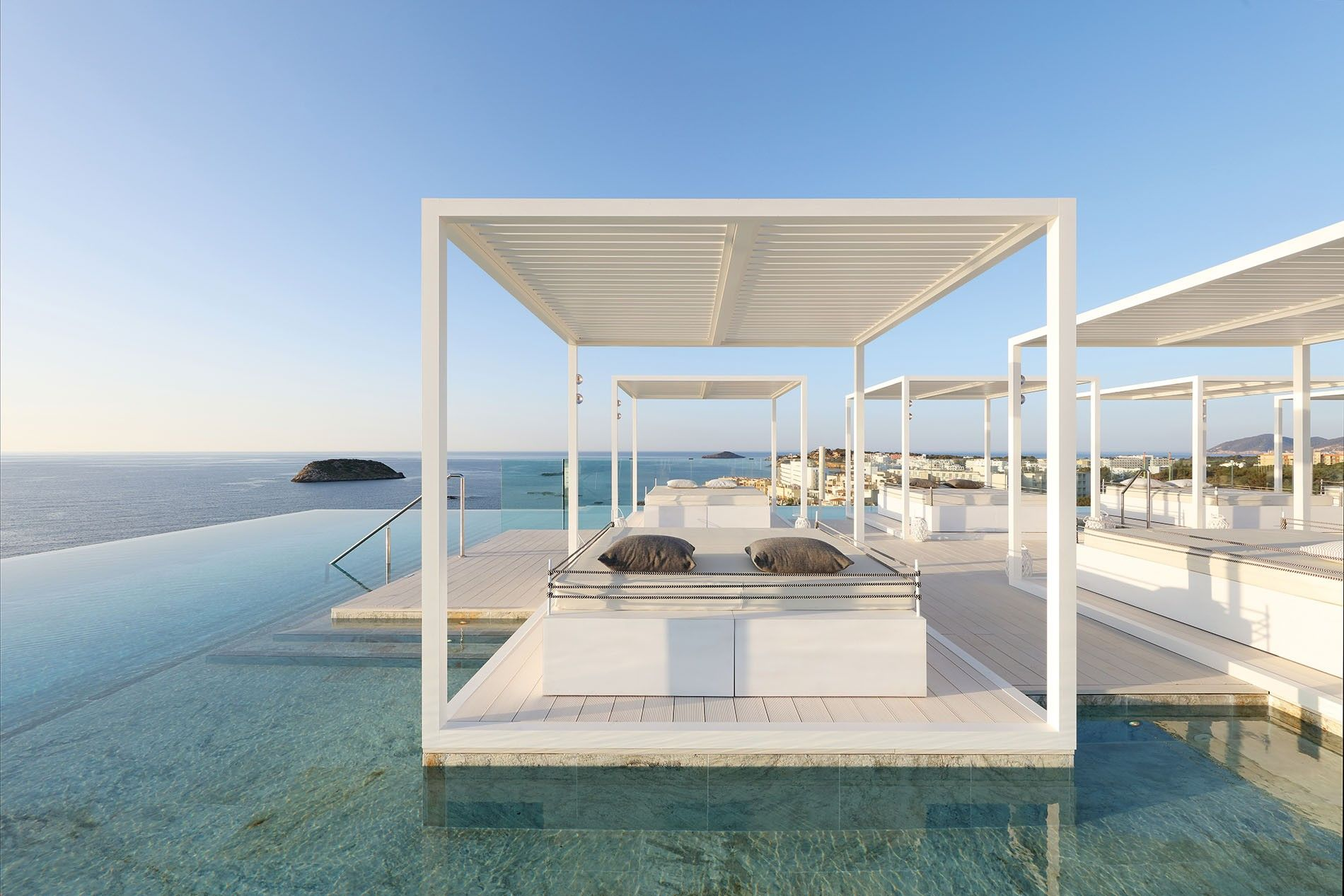 The Ibiza you've dreamed of: Bless Hotel is the 'Coco Chanel-inspired' hotel on the Santa Eulalia coast.