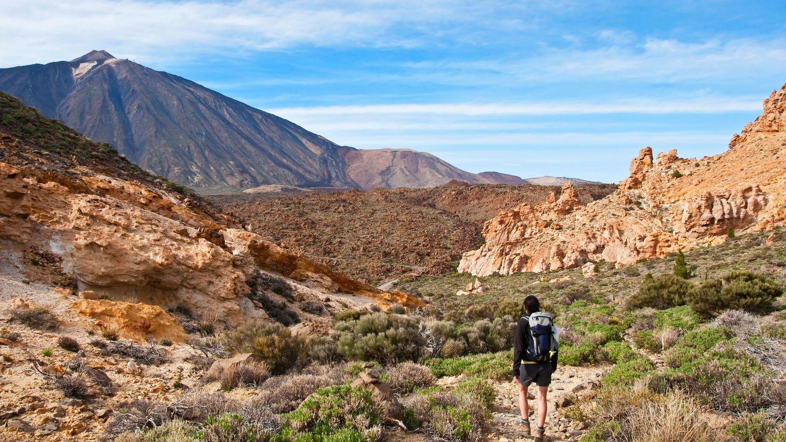 The Martian landscapes ofTeide National Park, Tenerife.