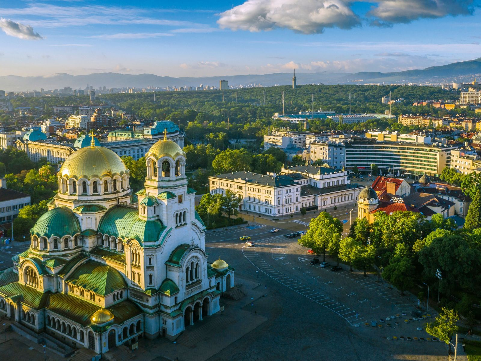 The Bulgarian Orthodox Alexander Nevsky Cathedral