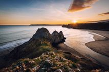 The Gower Peninsula is home to some of Europe's most majestic stretches of coast.