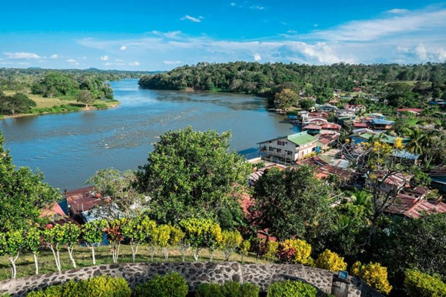 View from the fortress at El Castillo, Nicaragua. Image: Alamy