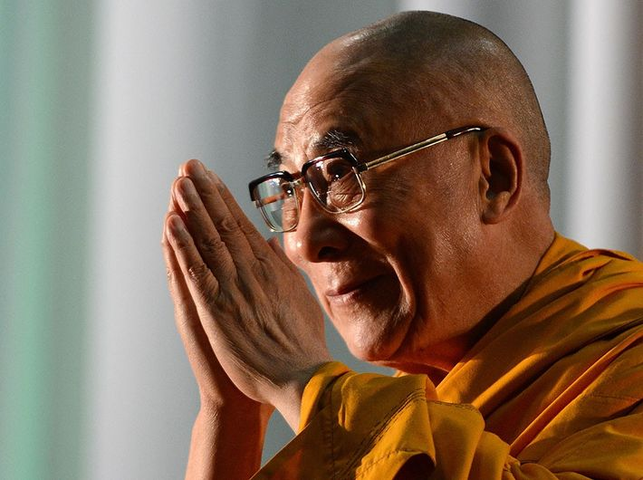 The Namaste greeting has been a central element of the Dalai Lama's public persona.