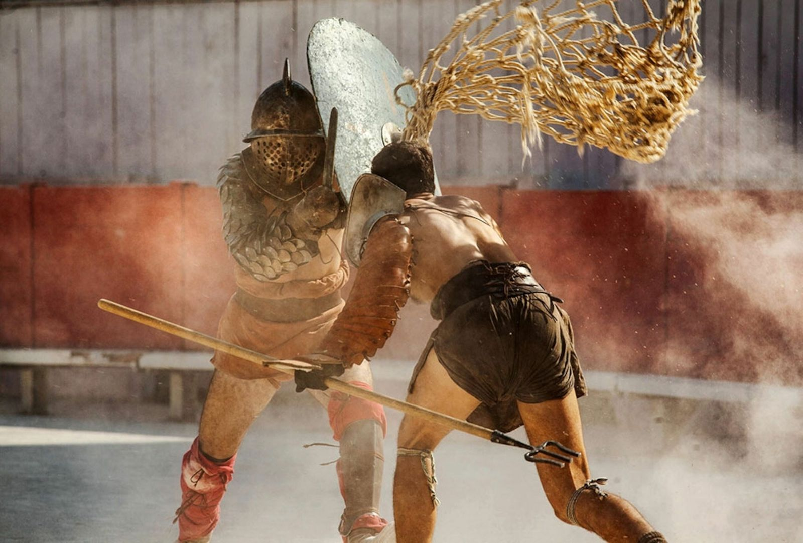 Real Gladiators NGM August