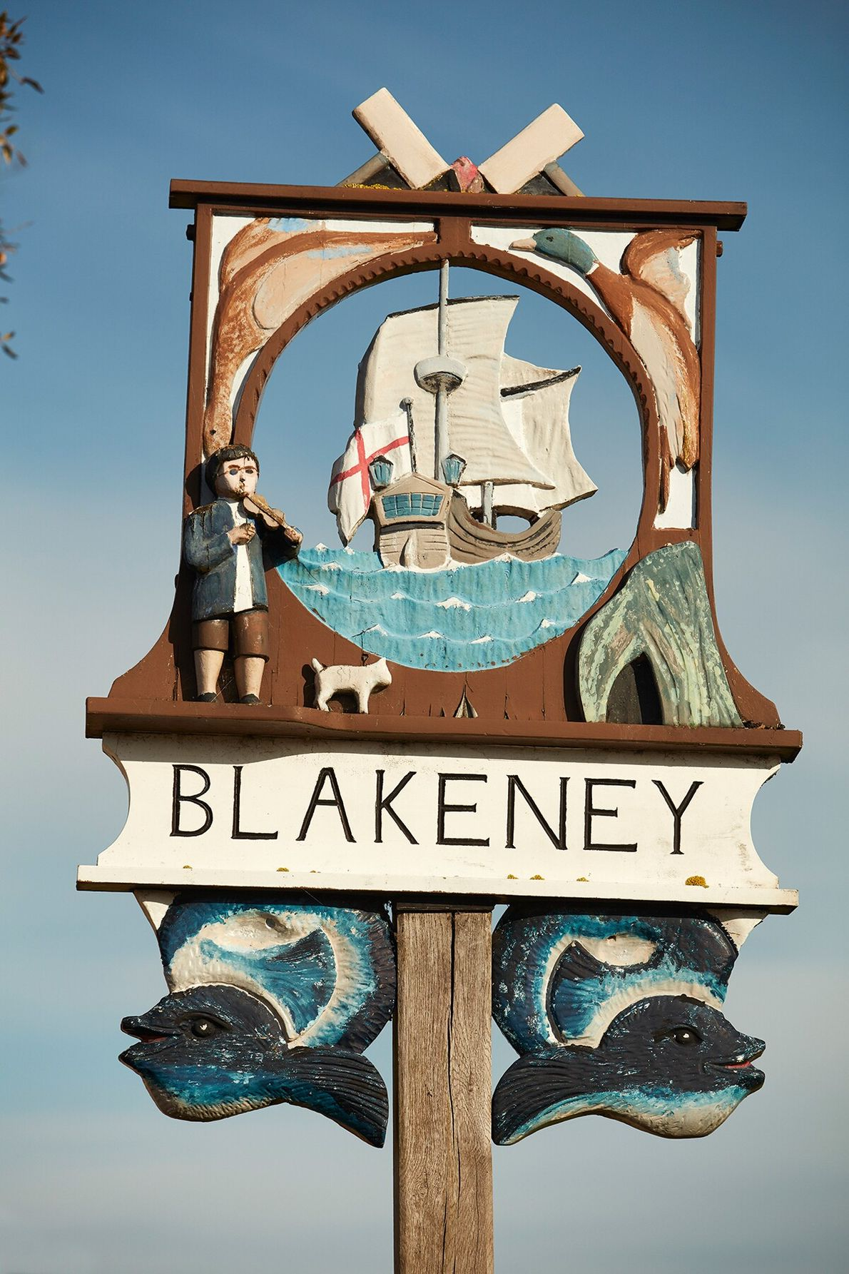 Referenced in the Domesday Book, the village of Blakeney emerged as a busy shipping port in ...