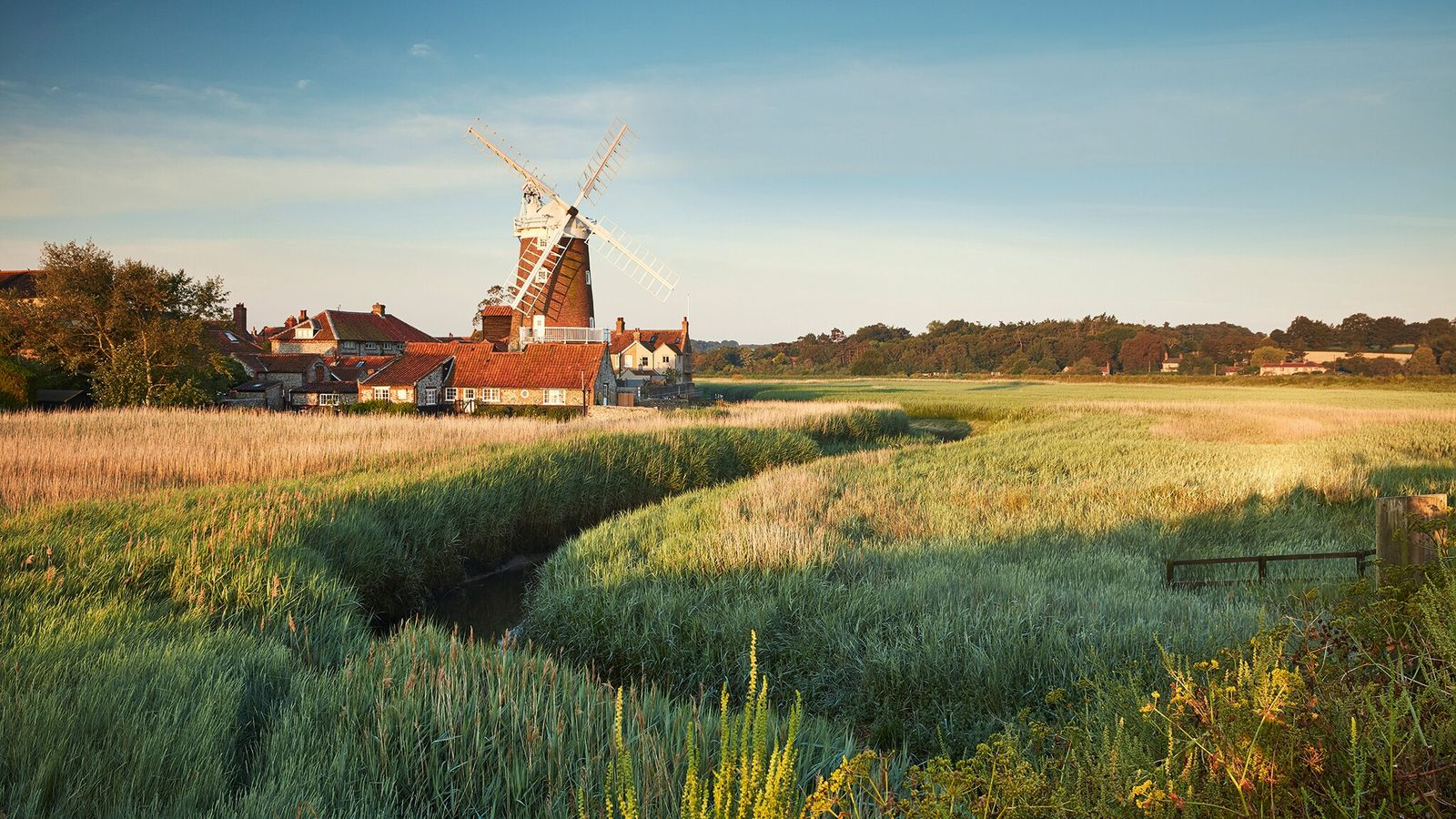 Wend your way east from the marshes of Brancaster, home to some of the country's finest seafood, through ...