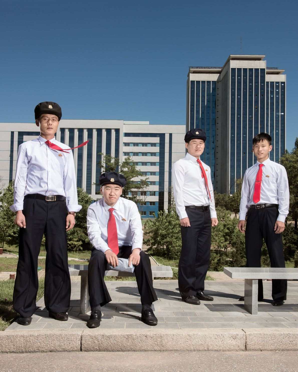 Children of the North Korean elite are educated at Kim Il Sung University, a sprawling campus ...