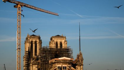 Coronavirus upended Notre Dame's future. WWII may have some answers