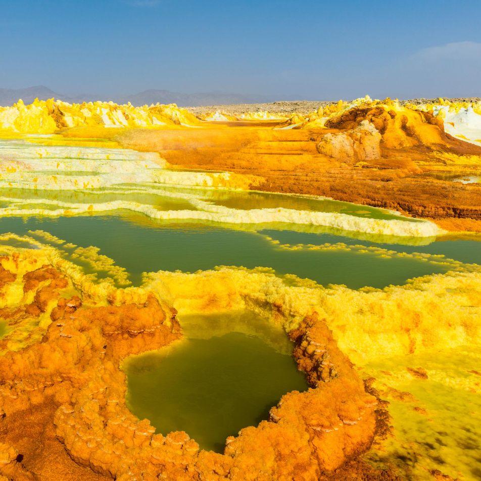 Explore 10 of Earth's most alien landscapes
