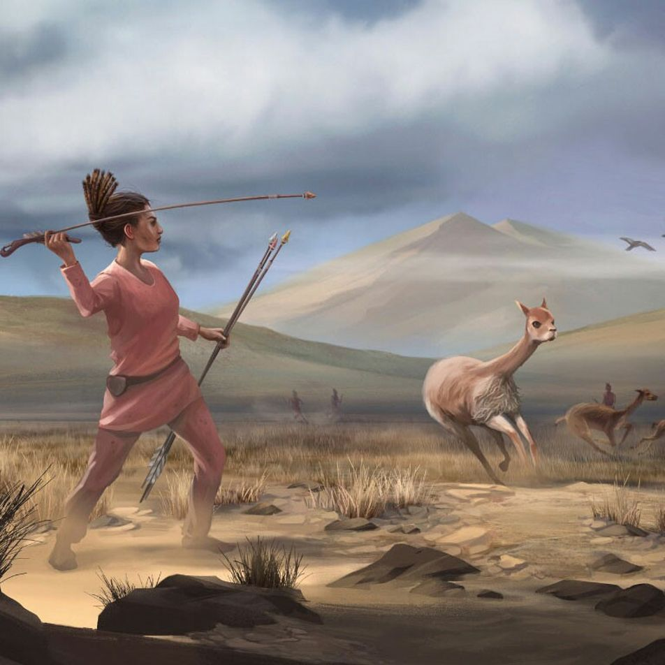 Prehistoric female hunter discovery upends gender role assumptions