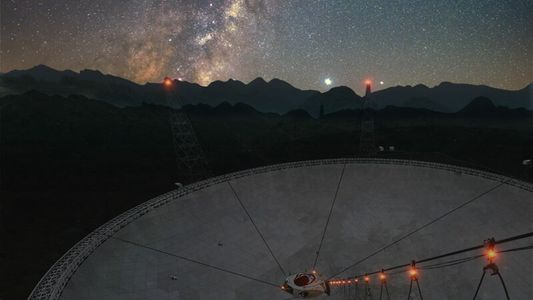 Mysterious radio signal spotted in Milky Way for first time
