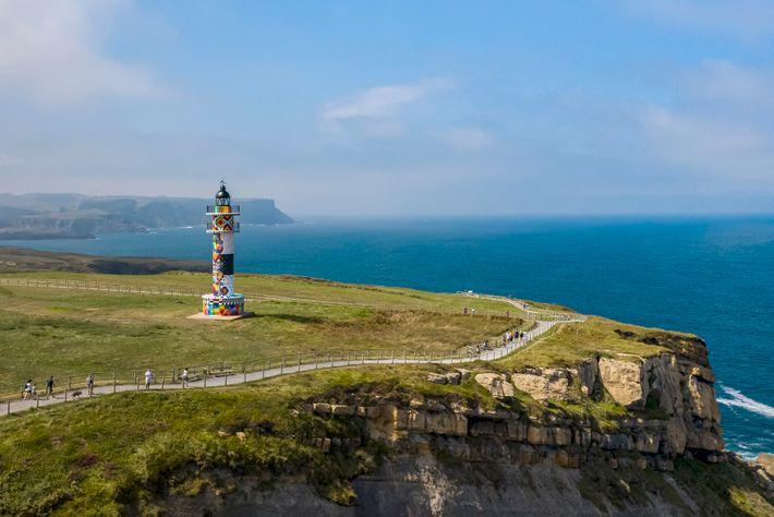 Cantabrian lighthouse