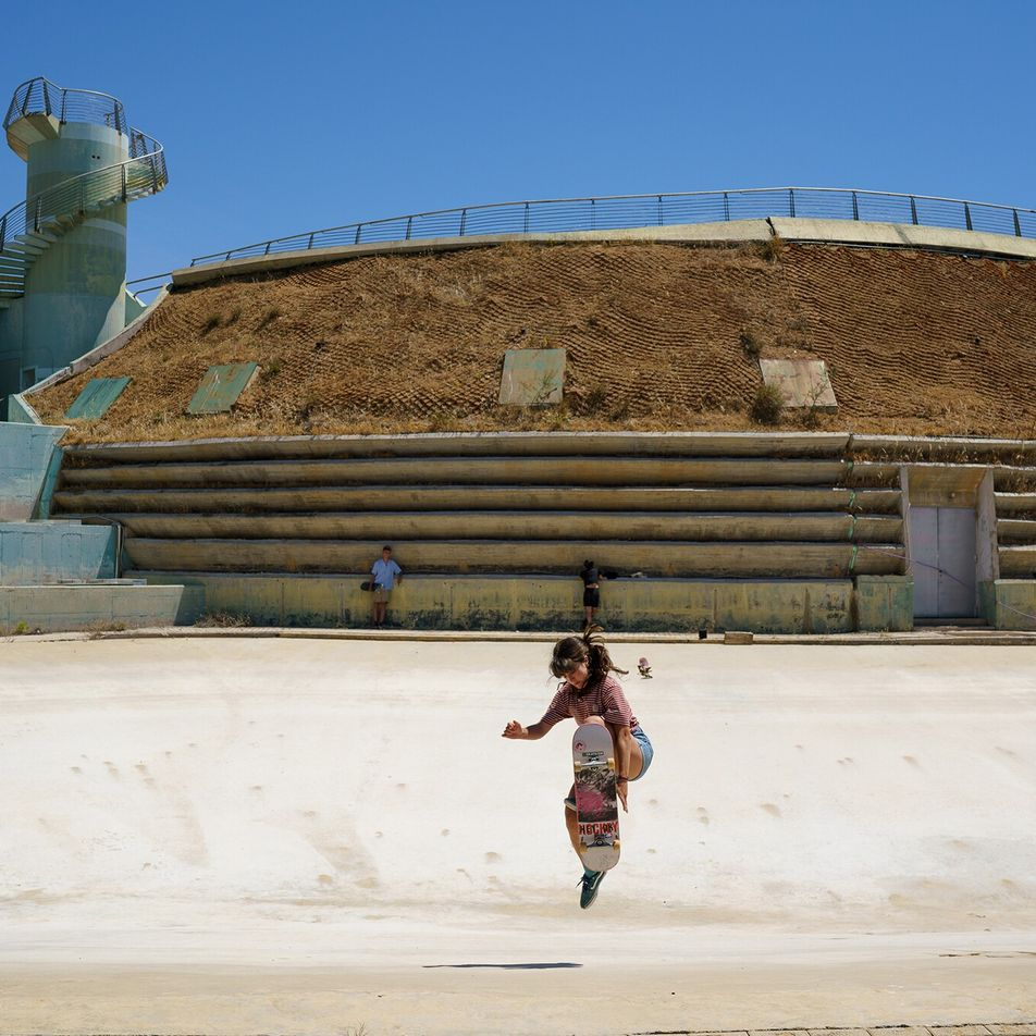 How skateboarders have reclaimed an abandoned Olympic stadium in Athens