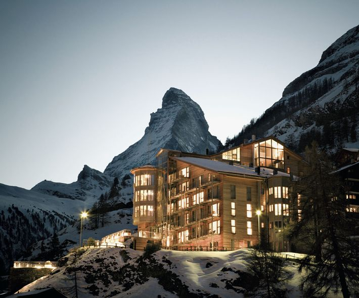 The Omnia is a beautiful, design-focused mountain lodge with easy access to the peaks around Zermatt.