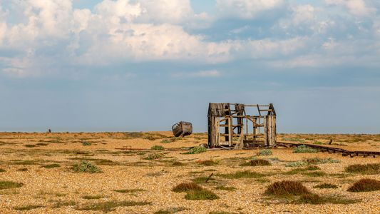 Desolation and an unlikely art scene in Dungeness