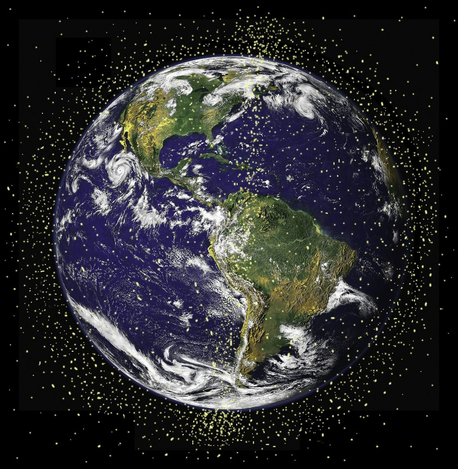 Some 29,000 human-made objects larger than 3.9 inches are believed to be circling Earth, presenting a ...