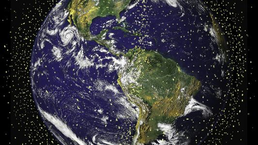 2 large pieces of space junk have a 'high risk' of colliding