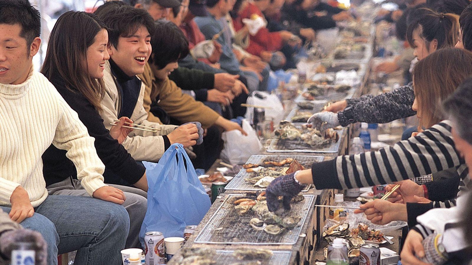 Oyster Festival, Hiroshima