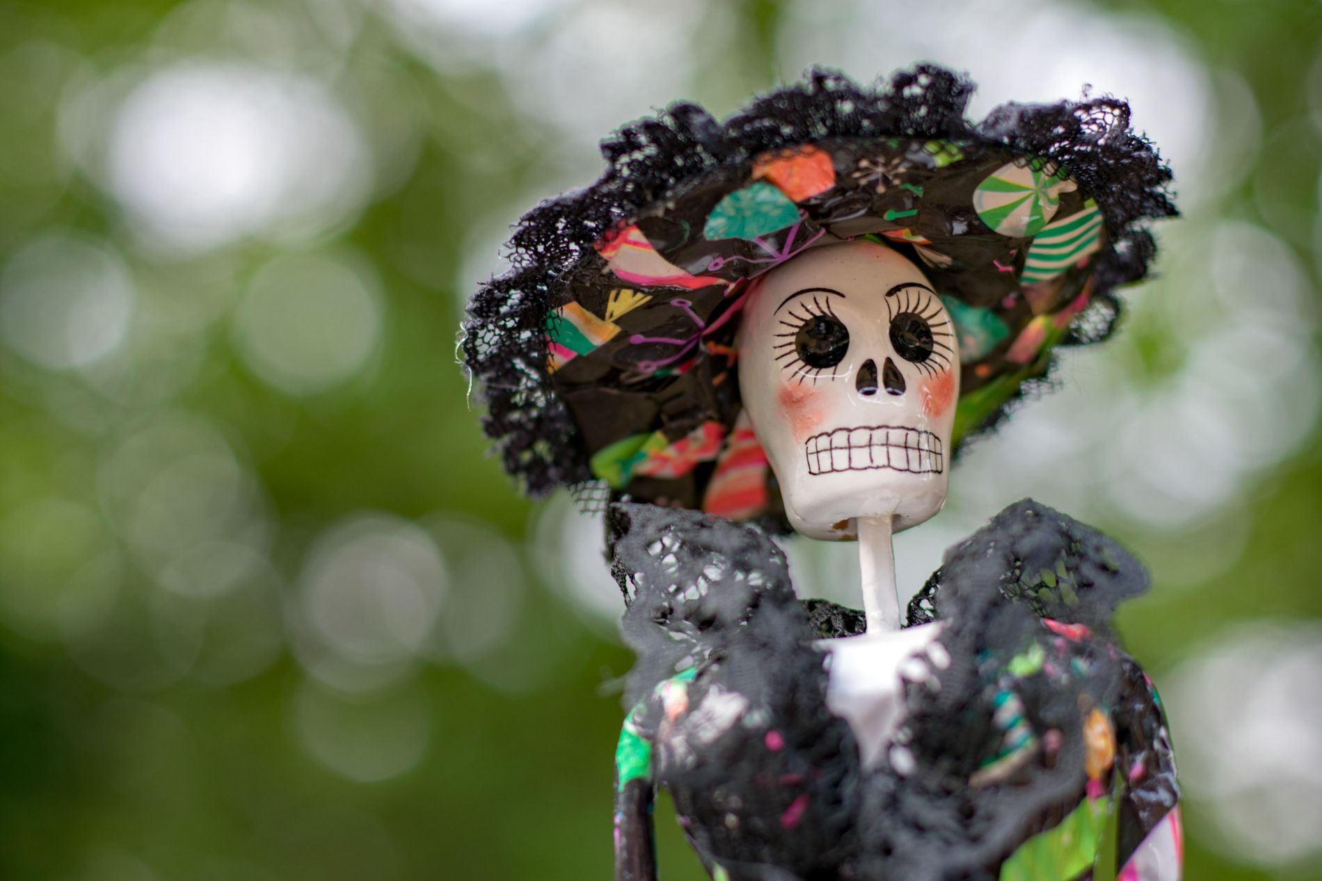 A La Catrina Calavera is a ubiquitous image during Day of the Dead – in costumes, ...