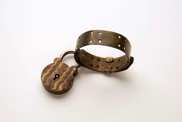 This padlock token is part of the Foundling Museum's collection.