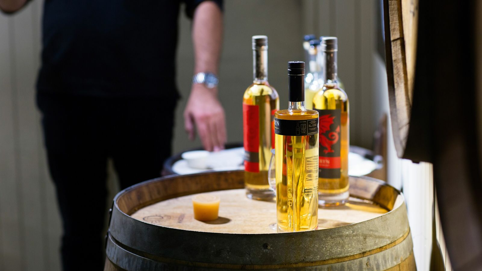 Penderyn Distillery creates distinctly Welsh single malt whiskies and spirits in the foothills of the Brecon ...