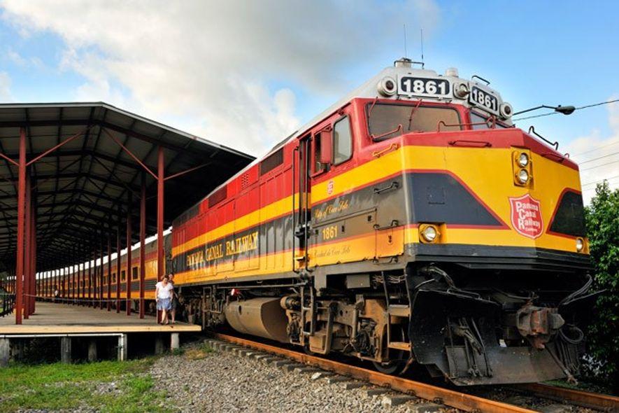 Panama Canal Railway.