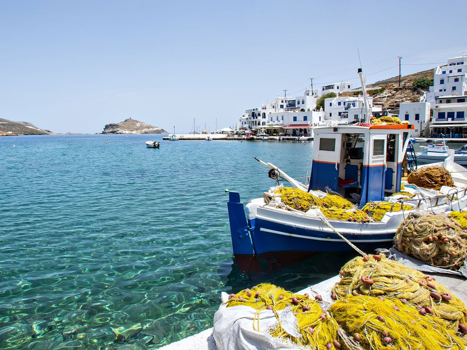 In the north of the Cyclades archipelago, in the Aegean Sea, Tinos is home to the ...