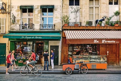 City life: Paris
