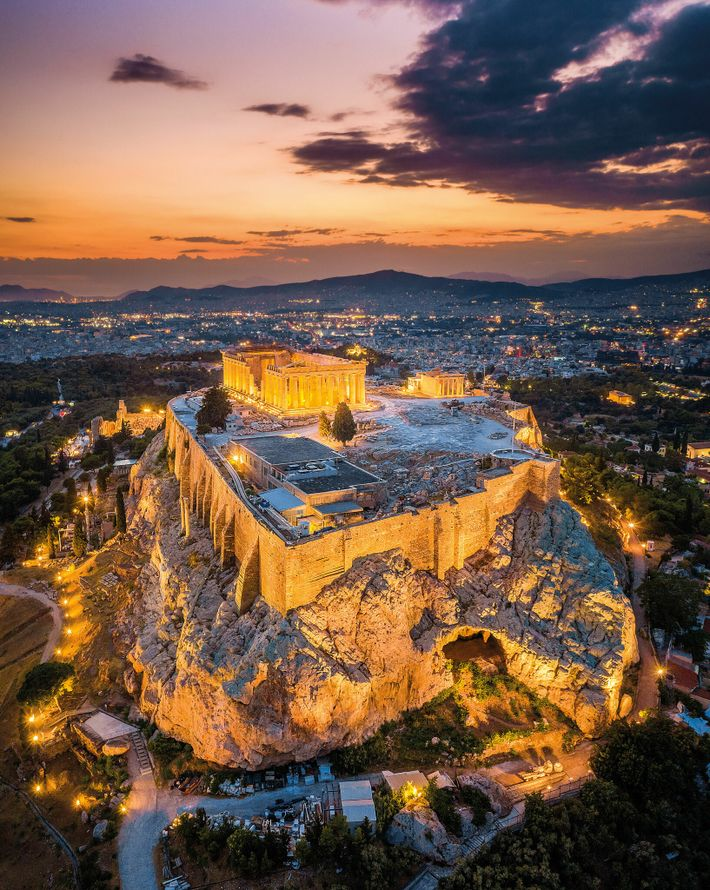 Crowning the Acropolis, the Parthenon was built in the fifth century B.C., a period Emperor Hadrian ...