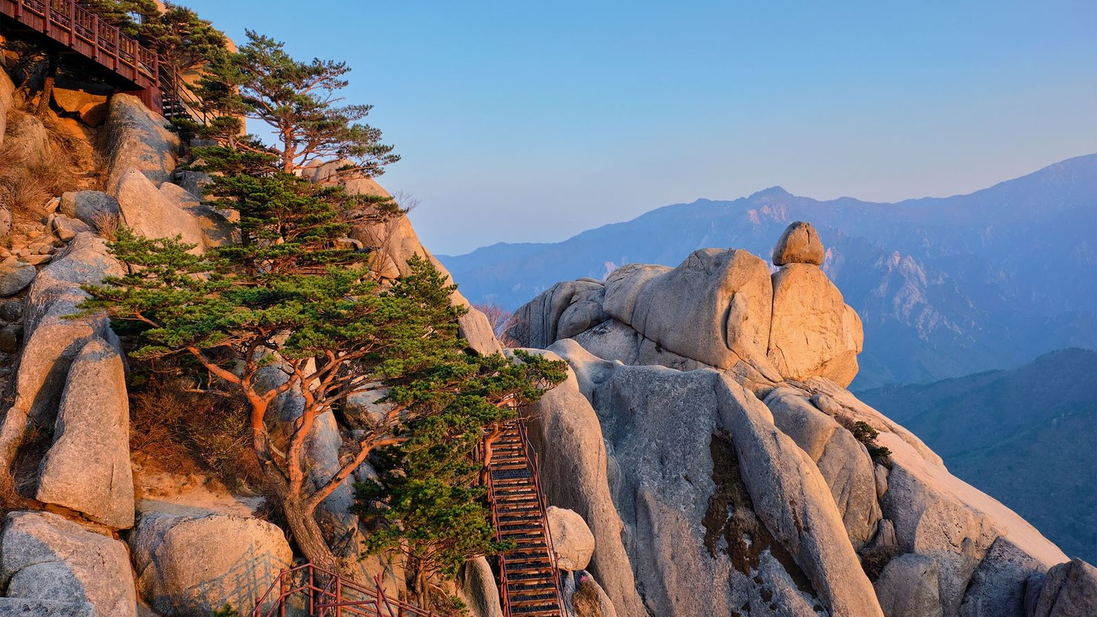 Seoraksan National Park has been recognised by UNESCO for its beauty, and is home to no ...