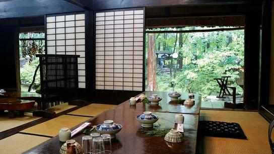 Mitakien's restaurant, Tottori