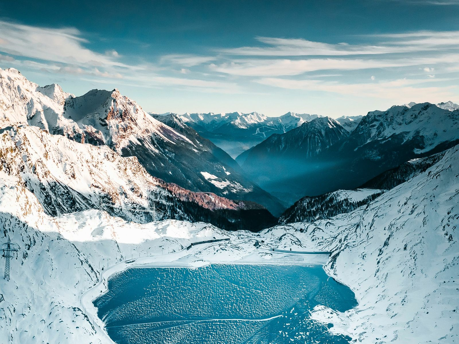 The resort of St Moritz in Switzerland is home to the dramatic Engadine Valley.