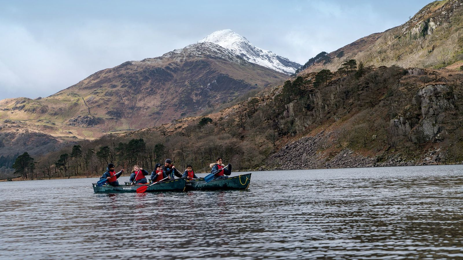 Girls from Sarah Bonnell School in east London headed to Cumbria for a weekend of outdoor challenges ...
