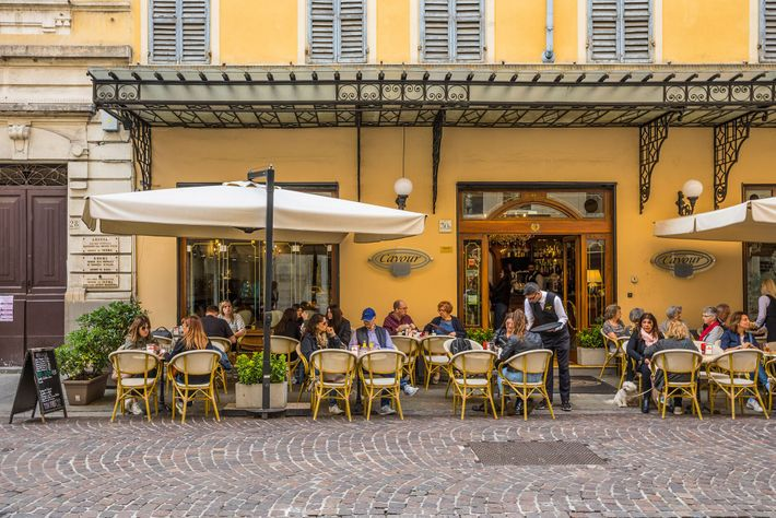 You'll find Parmigiano Reggiano on the menu at most local restaurants in Parma.
