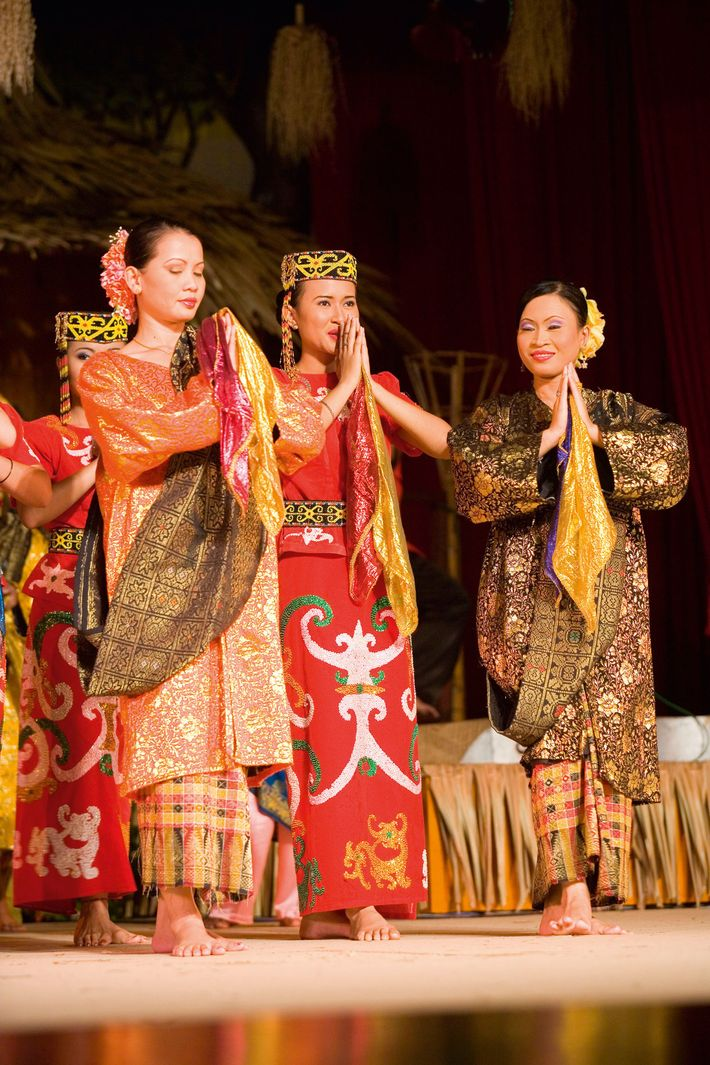 Traditional Malay dancers will tke to the stage both nights during The Rainforest World Music Festival.