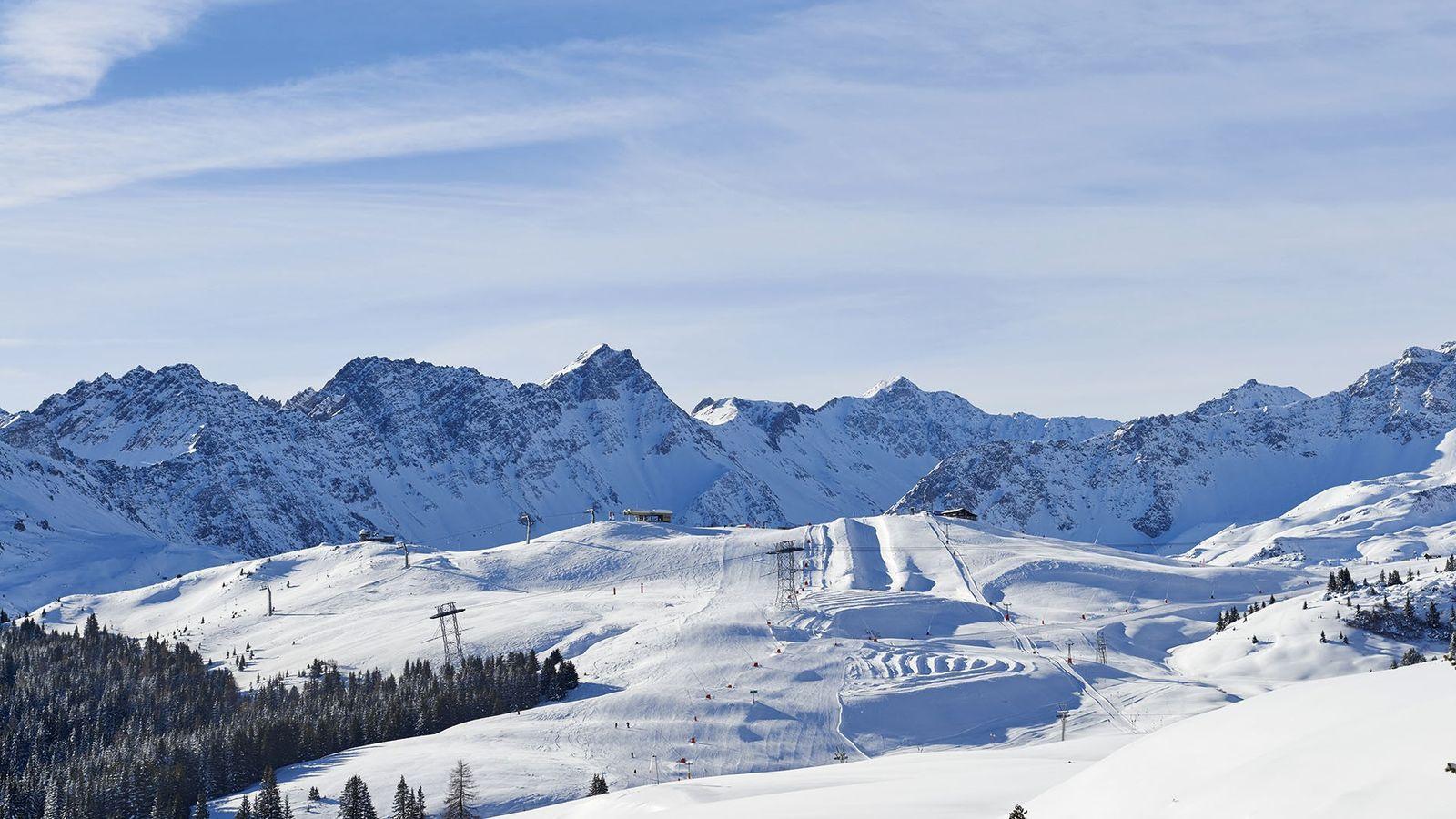 The ski region Arose Lenzerheide, a popular destination for families.
