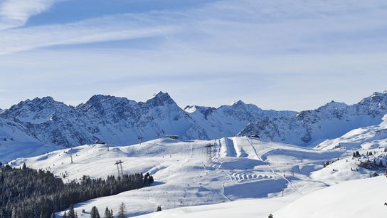 The ski region Arose Lenzerheide, a popular destination for families.
