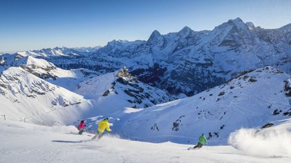 Iconic peaks and 500 miles of slopes: welcome to Switzerland's Bernese Oberland