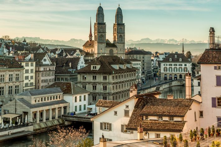 Zurich is the largest city in Switzerland, set prettily at the meeting of river and lake.