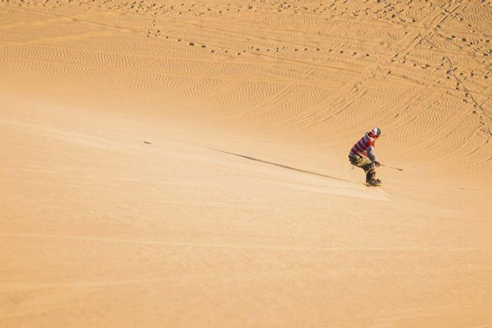 Sandboarding in Huacachina, Ica Province
