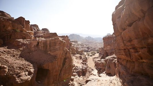 Petra: To climb a mountain