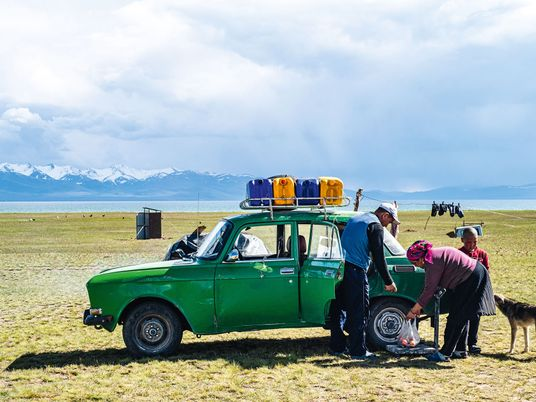 Photo story: dining with nomads in Kyrgyzstan