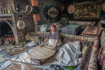 Photographer Nori Jemil captured a local woman making 'gozleme', a local spinach and feta pie, in a village ...
