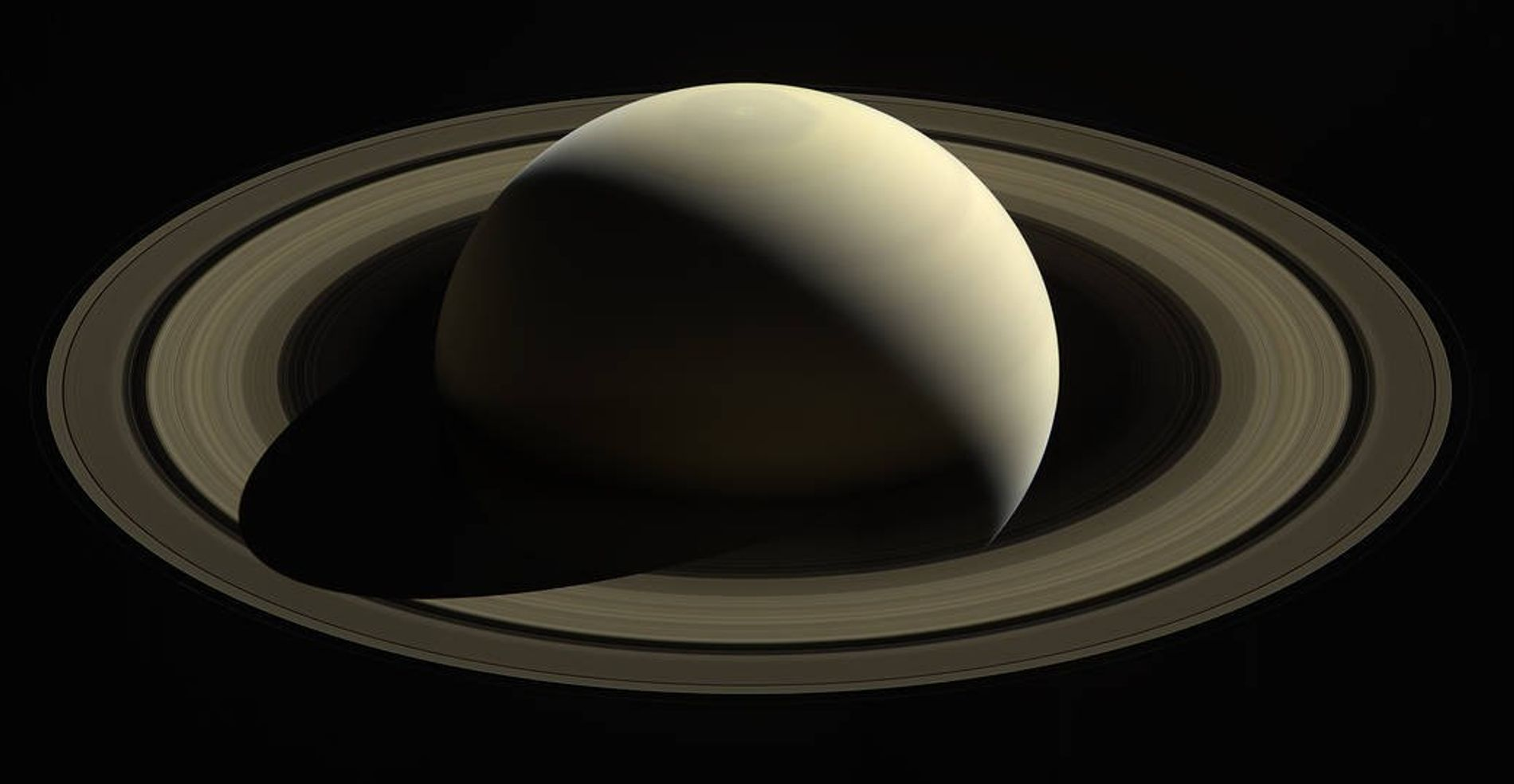 In October 2016, NASA's Cassini spacecraft captured its last looks at Saturn and its main rings. ...
