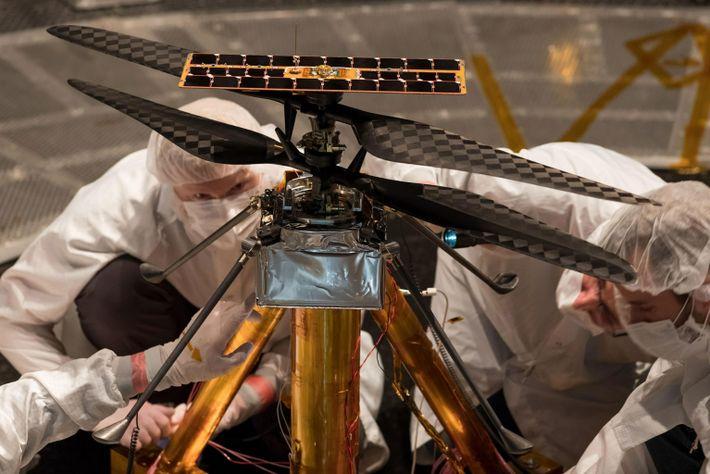 NASA Mars Helicopter team