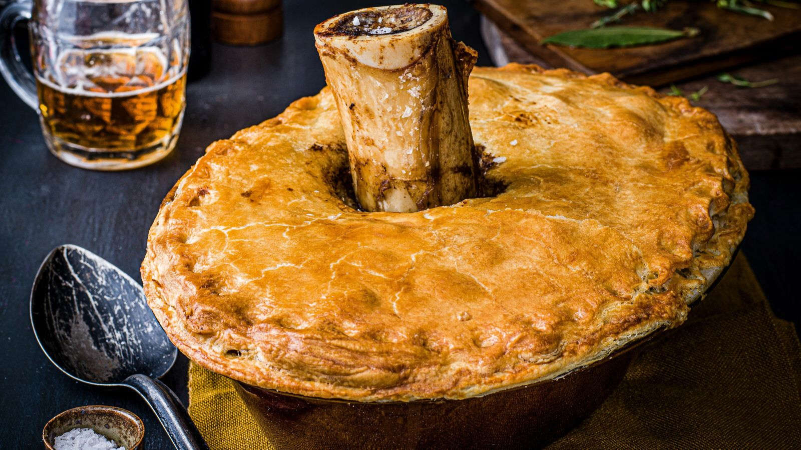"""Pete Brown modestly claims in his book, Pie Fidelity, """"Britain does pies better than anyone else ..."""