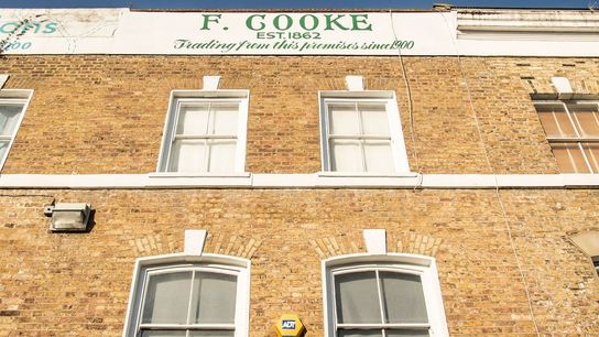 F. Cooke on Broadway Market